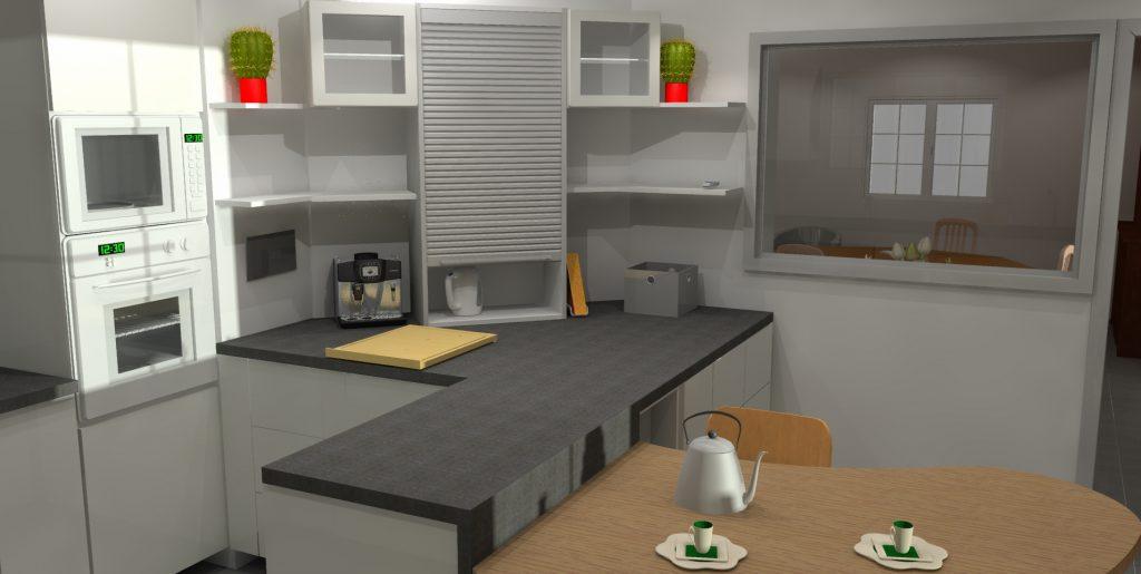 ouverture entre cuisine et salle manger isabelle tollard
