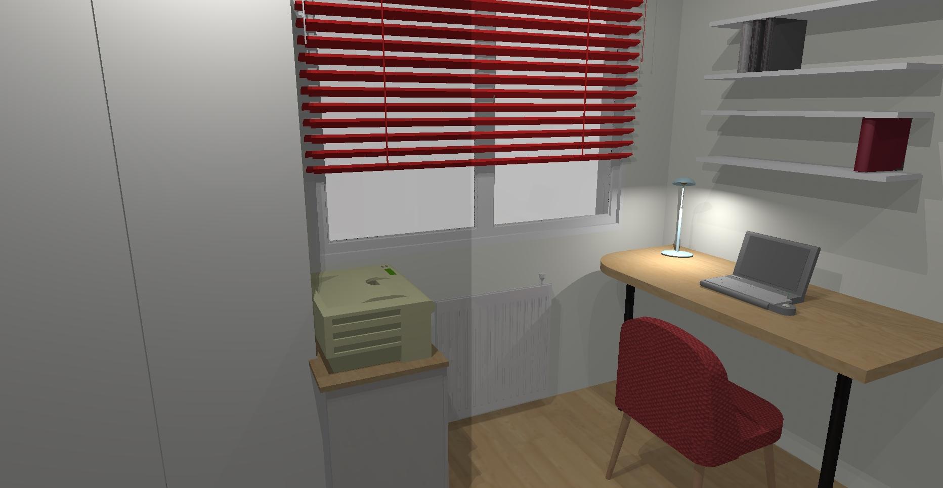 Une chambre en duplex la petite pierre isabelle tollard - Coin bureau design ...