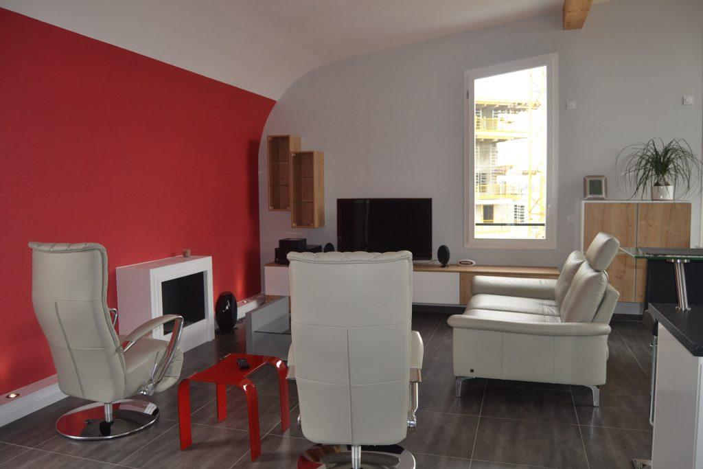Am nagement espace de vie dans immeuble en construction for Salon de musique strasbourg